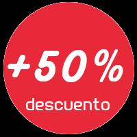 +50% de descuento en todos nuestros cursos